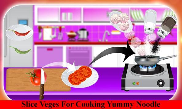 Hot Noodle Little Chef Cooking screenshot 1