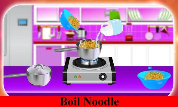 Hot Noodle Little Chef Cooking screenshot 2