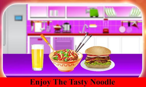 Hot Noodle Little Chef Cooking screenshot 4