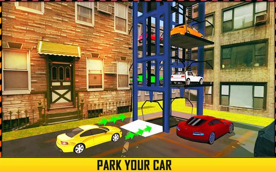 Modern Car Smart Parking Game poster