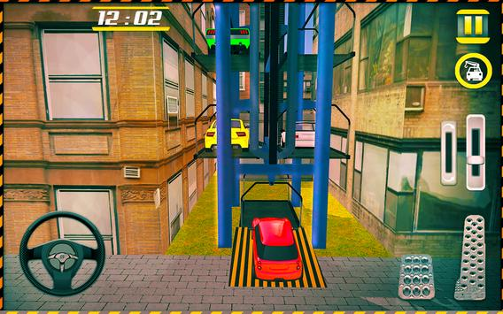 Modern Car Smart Parking Game screenshot 2