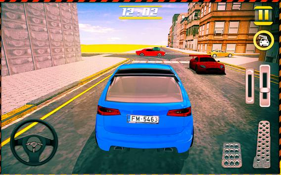 Modern Car Smart Parking Game screenshot 4