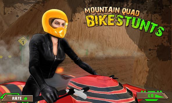 Mountain Quad Bike Stunts poster