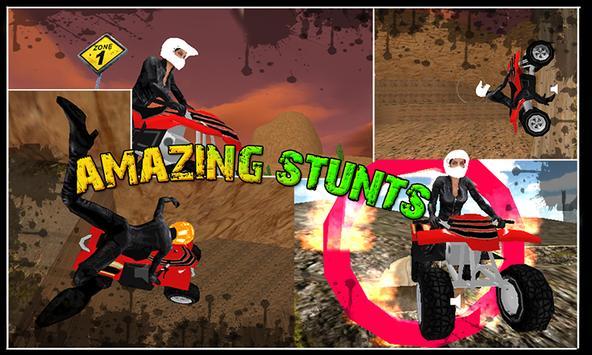 Mountain Quad Bike Stunts screenshot 2