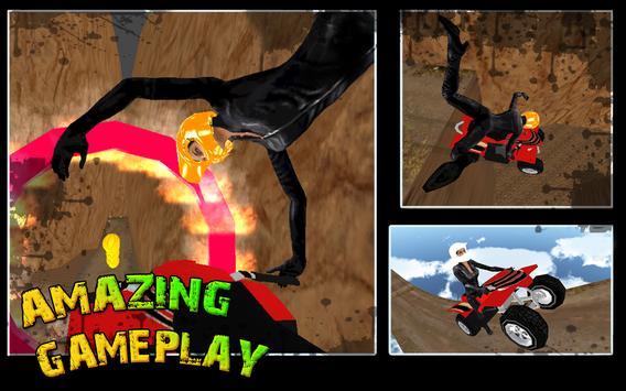 Mountain Quad Bike Stunts screenshot 5