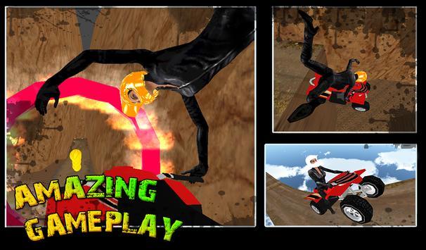 Mountain Quad Bike Stunts screenshot 9