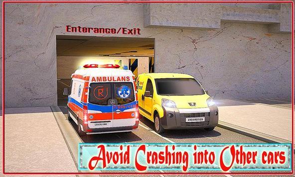 Ambulance Parking Multi-Storey poster