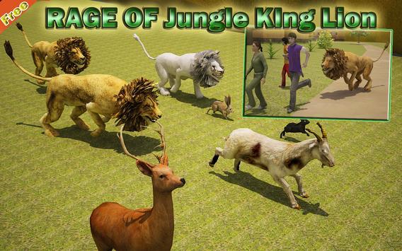 Rage of Jungle King Lion apk screenshot