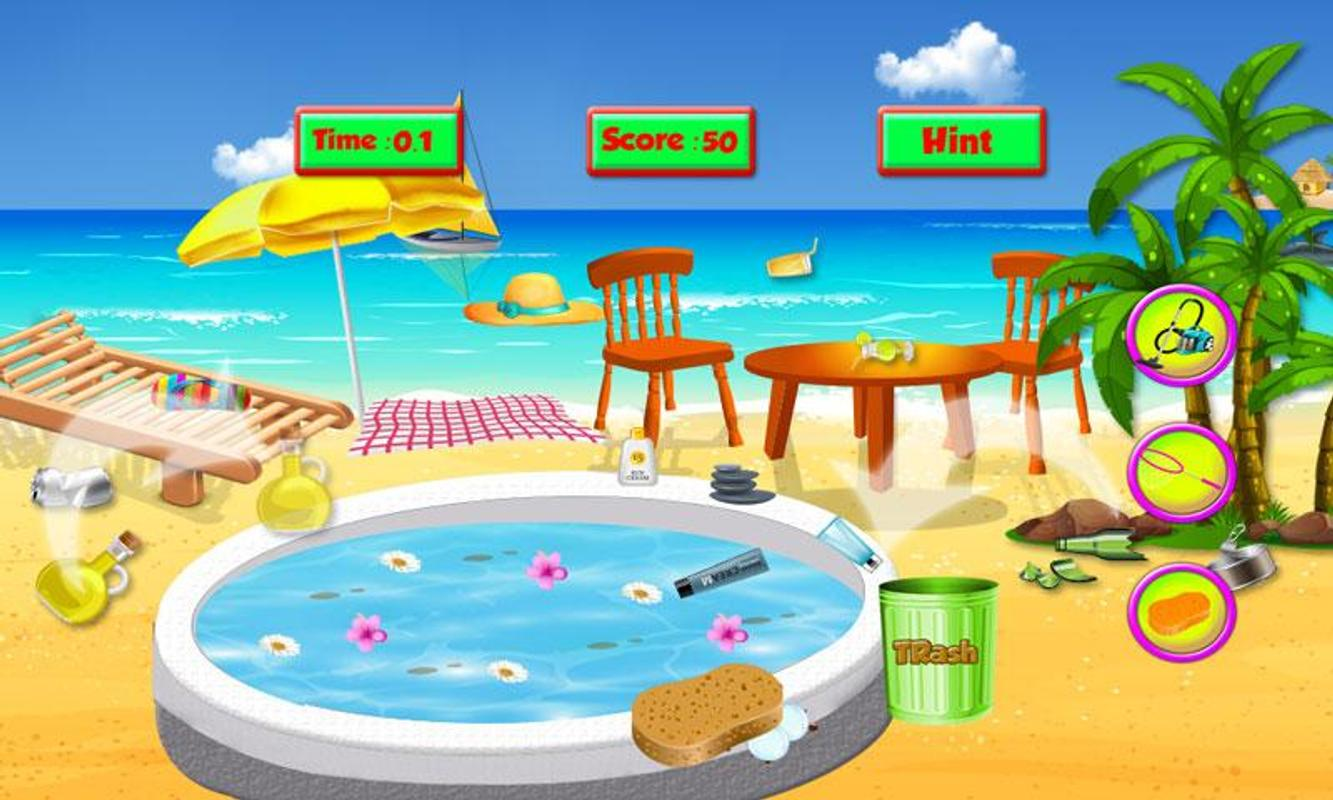 Spa Salon Cleanup Simulator: Pool & Bath Cleaning for Android - APK ...