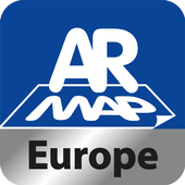 AR Map Europe icon