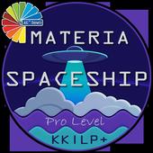 Materia SpaceShip Pro-Level icon