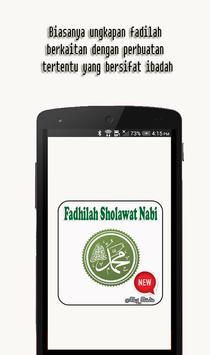 Fadhilah Sholawat Nabi poster