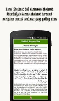 Fadhilah Sholawat Nabi apk screenshot