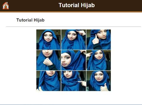 101 Tutorial Hijab apk screenshot