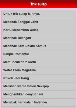 Trik Sulap screenshot 6