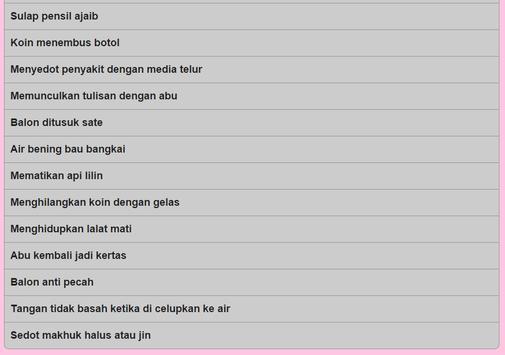 Trik Sulap screenshot 10