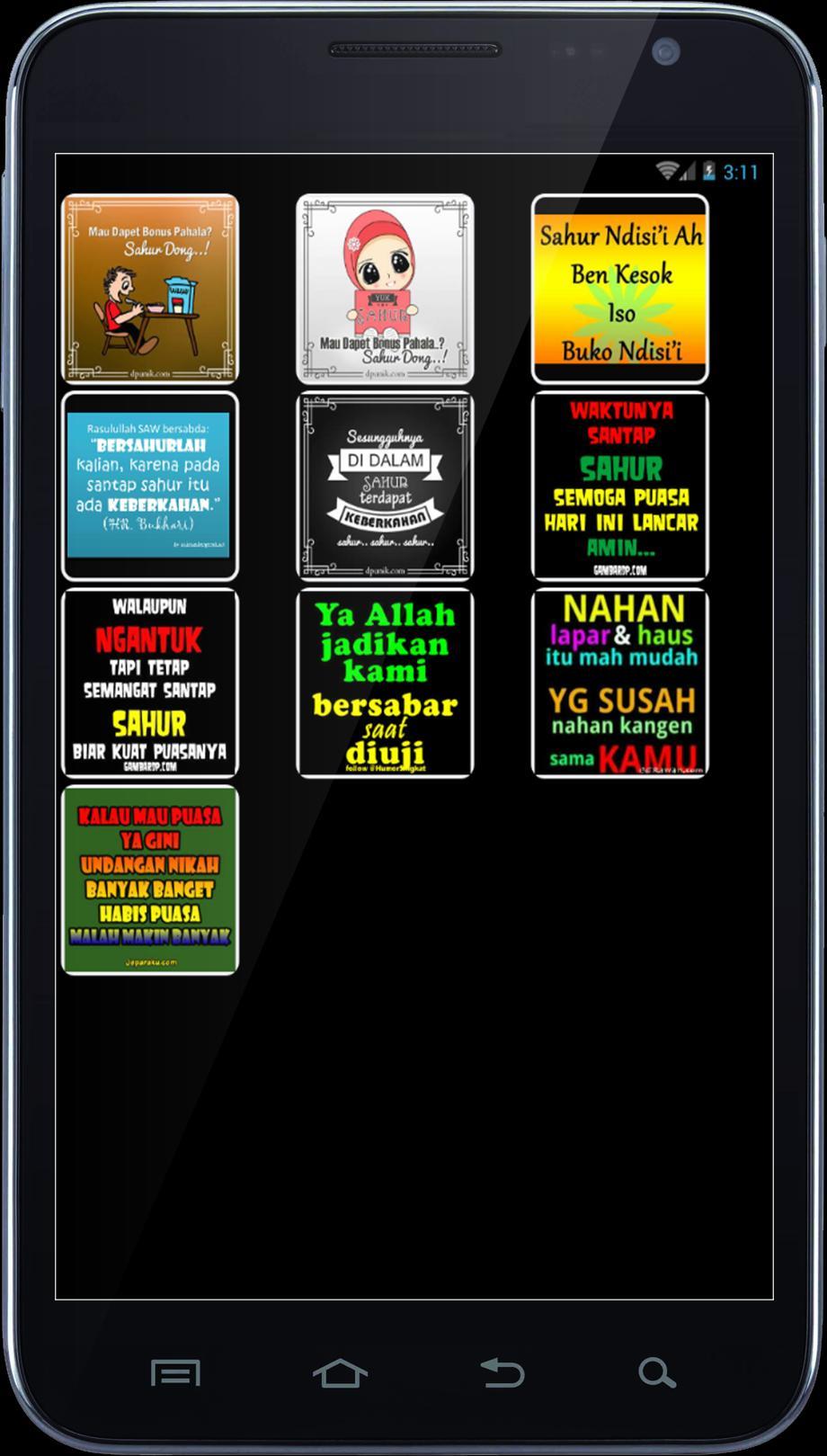 DP Gambar Lucu Sahur For Android APK Download