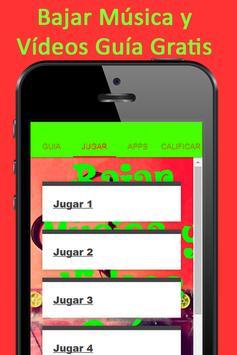 Bajar Musica y Videos Guia Gratis Y Facil screenshot 3
