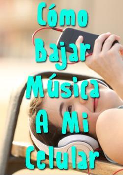 Como Bajar Musica A Mi Celular Facil पोस्टर