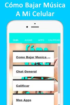 Como Bajar Musica A Mi Celular Facil स्क्रीनशॉट 2