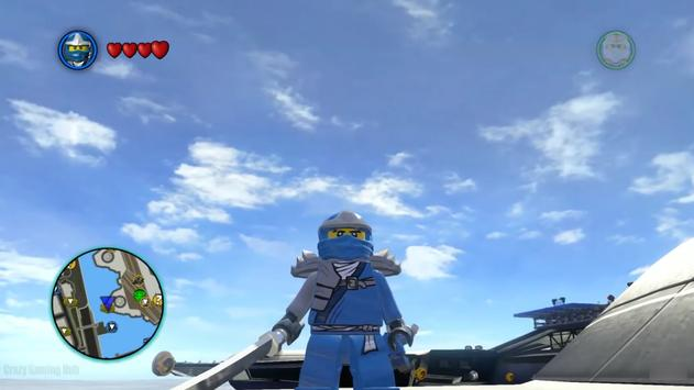 Aguero Of Jewels Lego Ninja Blue poster