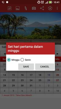 Kalender Indonesia screenshot 5