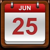 Croatia Calendar  2019 icon