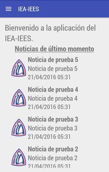 IEA-IEES José C Paz poster