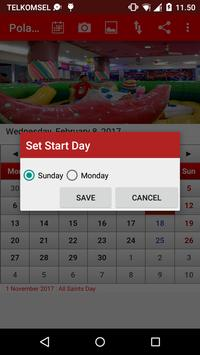 Poland Calendar apk screenshot
