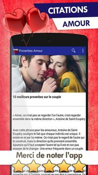 Proverbes Citations Amour For Android Apk Download