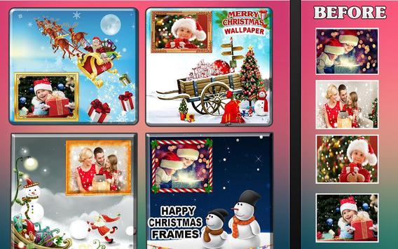 Best Christmas Photo Frames App 2018 poster