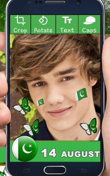 Pak Flag Photo Frame For Pictures Free App screenshot 3