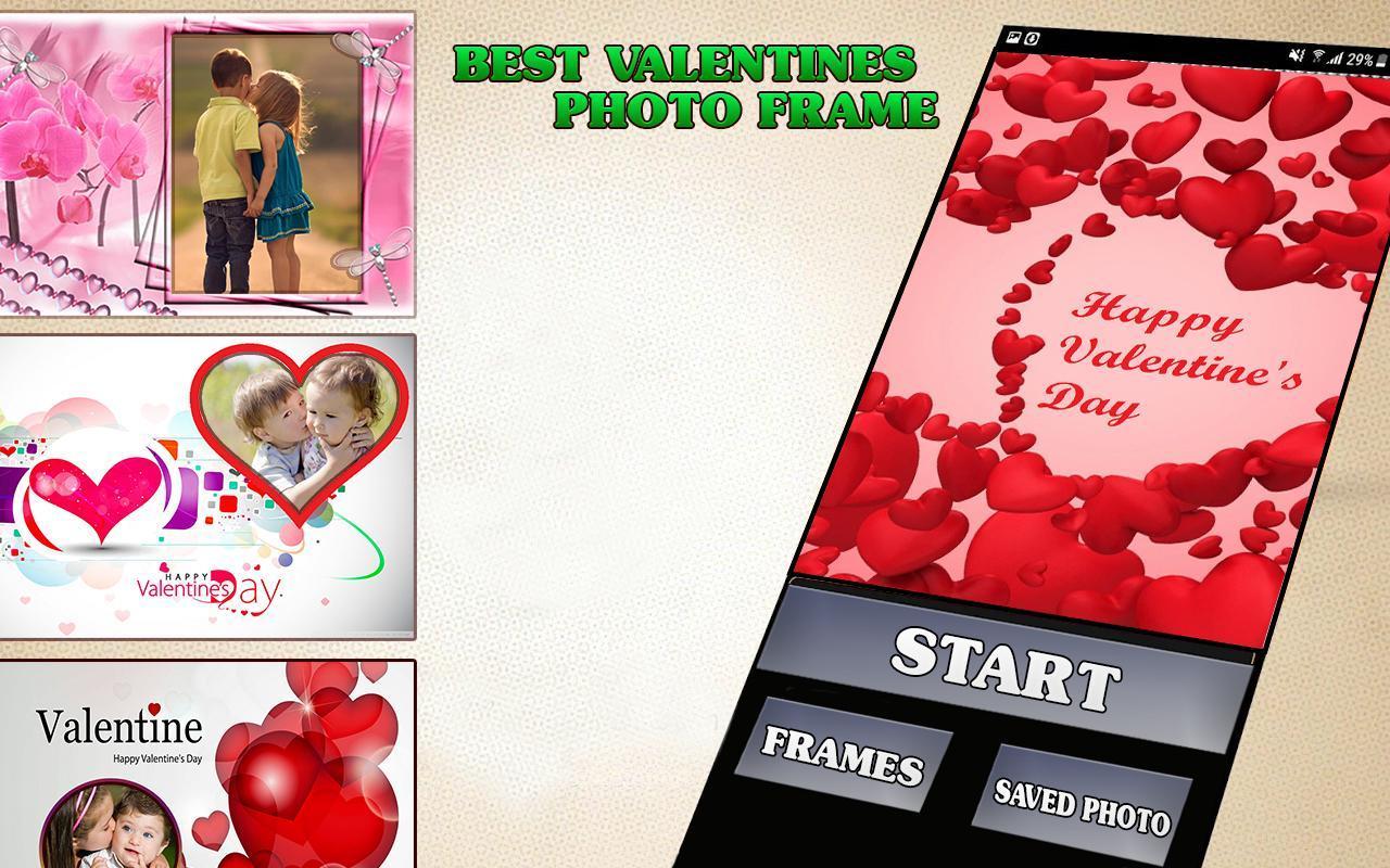 San Valentín día foto marco Descarga APK - Gratis Fotografía ...