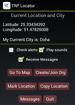 TRP Locator screenshot 1