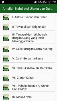 Amaliah Nahdlatul Ulama dan Dalilnya apk screenshot
