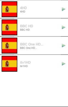 Spain Channels Info screenshot 1