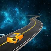 Space Car Drive Simulator icon