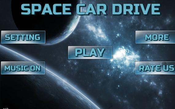 Space Car Drive Simulator poster