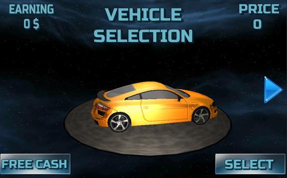 Space Car Drive Simulator screenshot 1
