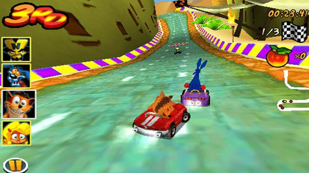 Crash Bandicoot Nitro Kart 3D screenshot 1