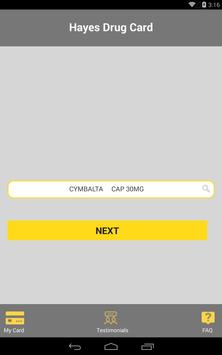Hayes Drug Card screenshot 17