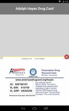 Hayes Drug Card screenshot 18