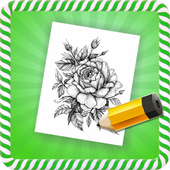How To Draw :Flower Tattoos icon