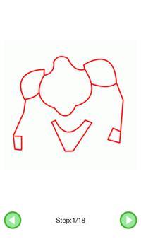 How To Draw :Robots screenshot 2