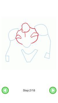 How To Draw :Robots screenshot 3