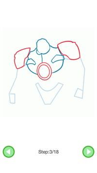 How To Draw :Robots screenshot 4