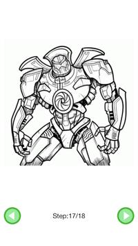 How To Draw :Robots screenshot 5