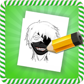 How To Draw :Tokyo Ghoul Characters icon