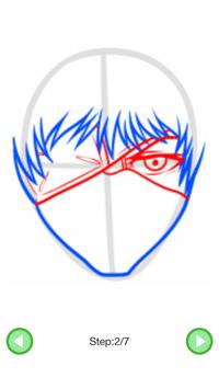 How To Draw :Tokyo Ghoul Characters screenshot 3