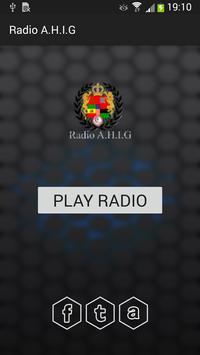 Radio A.H.I.G poster